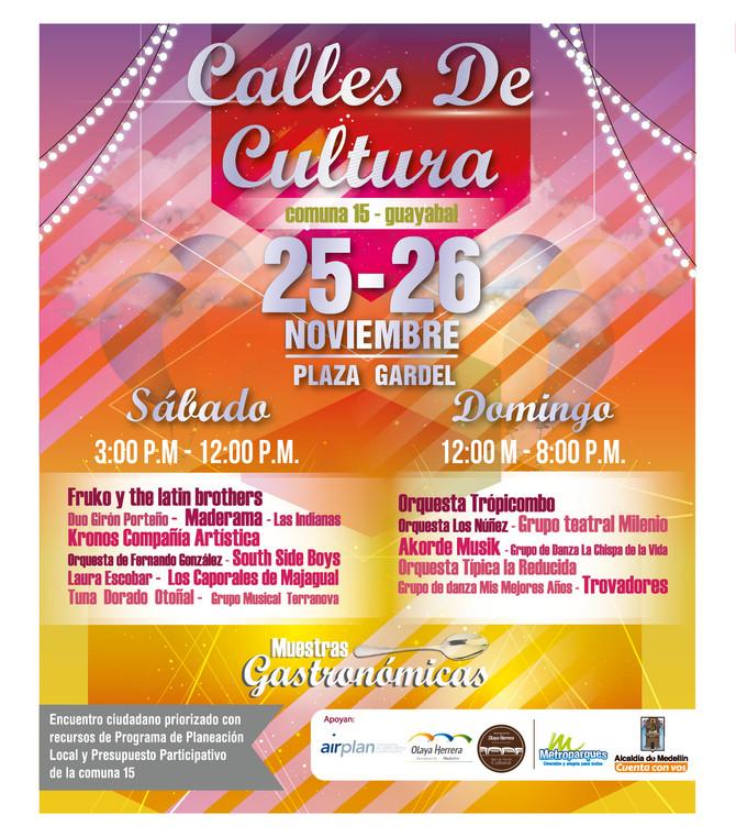 Encuentro Cultural Calles de Cultura