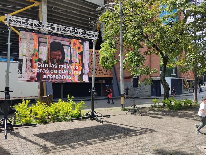 Los alrededores del Estadio Atanasio Girardot se reactivan con actividades culturales y deportivas