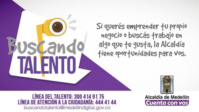 La Alcaldía de Medellín recorre comunas y corregimientos Buscando Talento