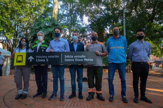 Inician estudios para una nueva línea de transporte masivo en Medellín y el Valle de Aburrá