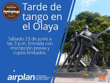 """Inscripciones a """"Tarde de tango en el Olaya"""""""