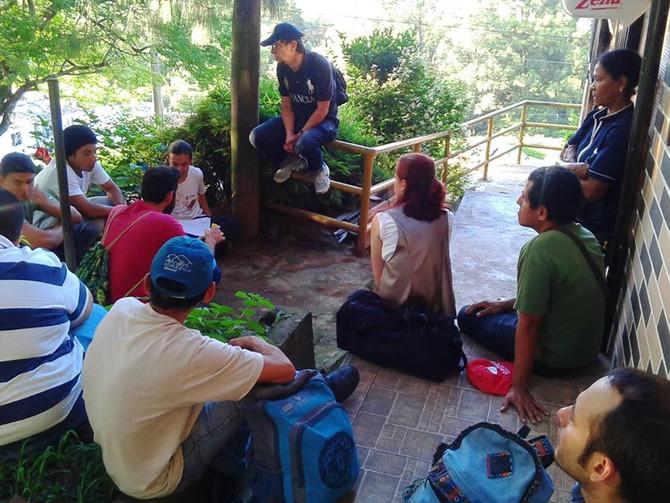 Visitas de  Huerta en Huerta en la Comuna 15 Guayabal.