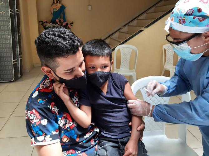 En Medellín se adelantan jornadas intensivas de vacunación contra rubéola y sarampión