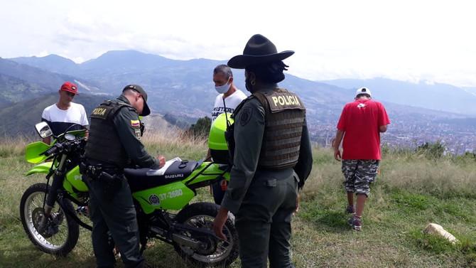 Se mantiene suspendido el ingreso a las áreas ecológicas y ambientales de Medellín