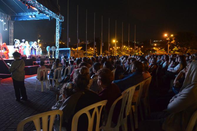 Así se vivió el Show Musical en Plaza Gardel