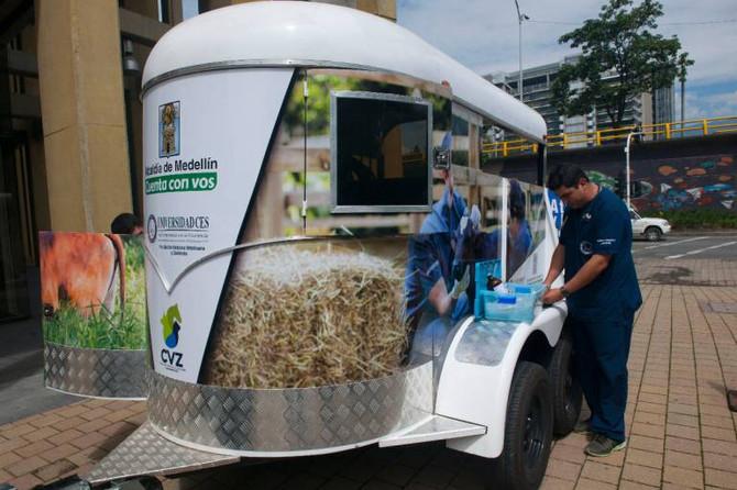 ¿Sabias que Medellín cuenta con la primera Unidad de Reacción Inmediata de Bienestar Animal del país
