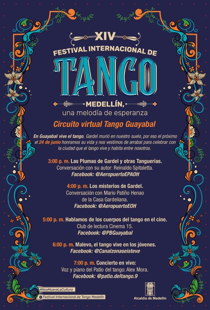 El Festival Internacional de Tango se vive también en la Comuna 15 Guayabal este 24 de junio