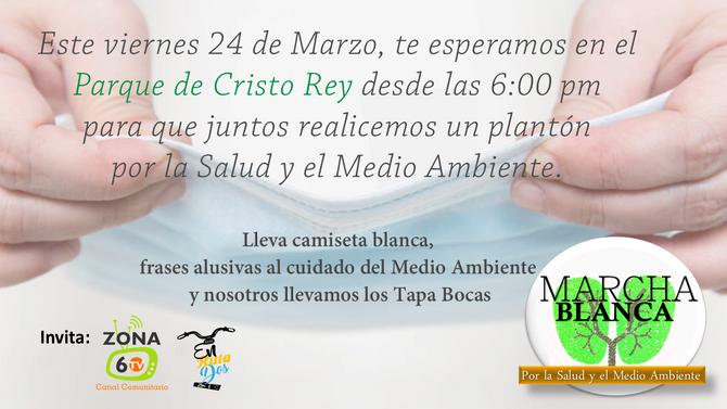 Plantón Comuna 15 por la Salud y el Medio Ambiente
