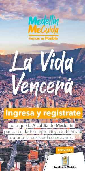 Medellín Me Cuida una plataforma para enfrentar el Covid 19