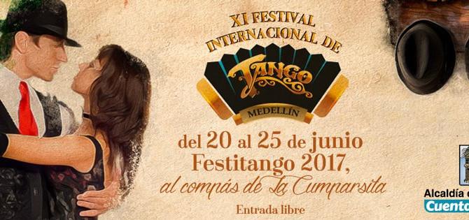 El Festival Internacional de Tango de Medellín se disfrutará al ritmo de La Cumparsita