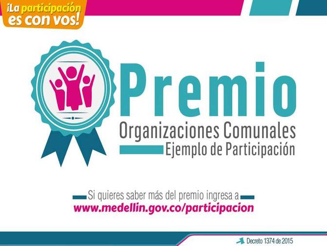 "Convocatoria ""Premio Organizaciones Comunales"""