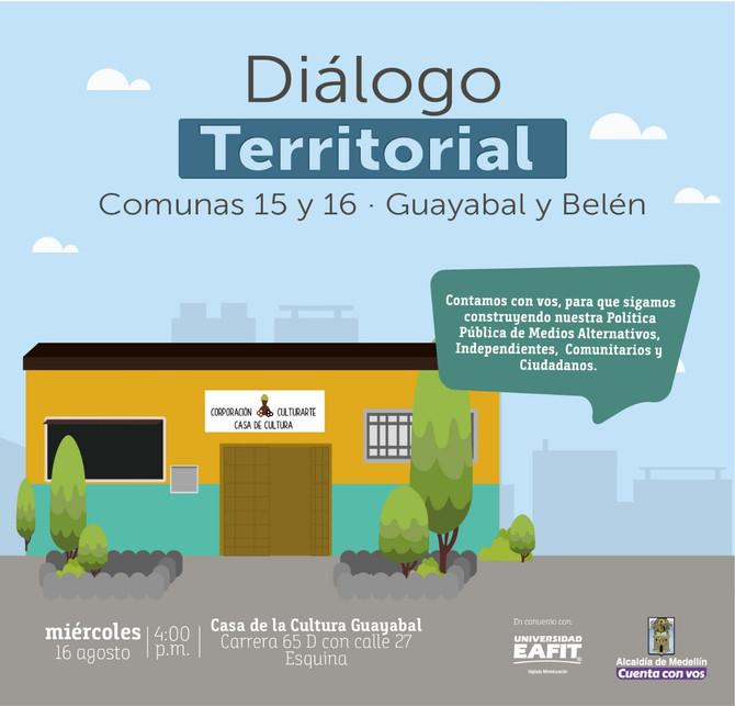 Diálogos territoriales Zona 6
