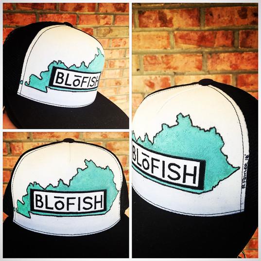 """My Old Kentucky Seafoam"" Custom artist series for Blofish Clothing Co."