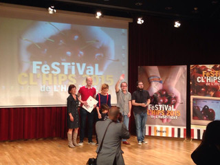 2º premio festival Ch'lips del Hospitalet 2015