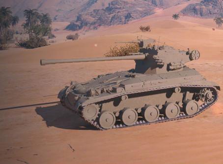 Prémiový lehký tank VIII. FV1066 Senlac na supertestu