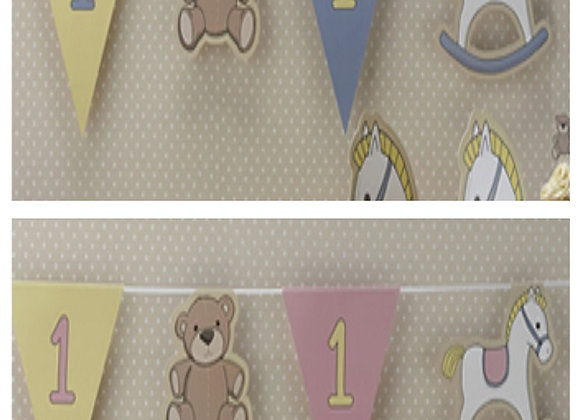 1st Birthday Party Bunting