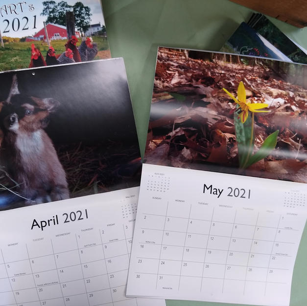 Farm calendars