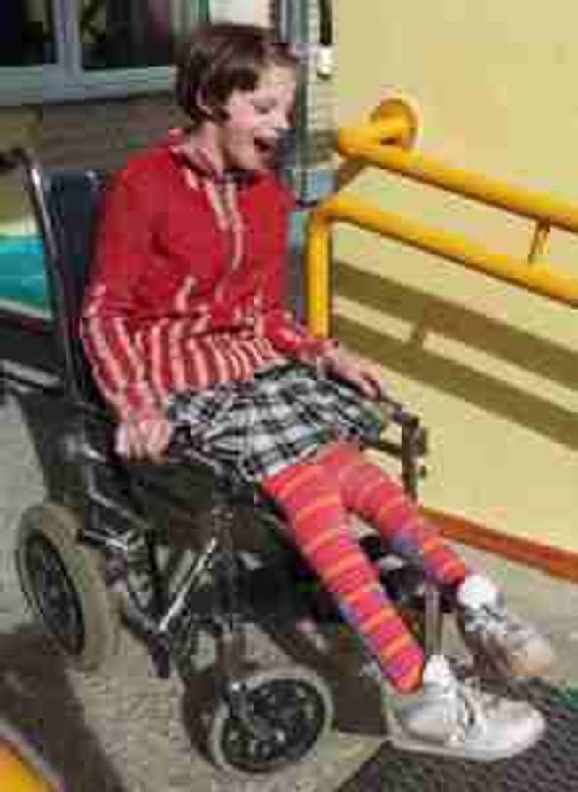 wheelchair girl