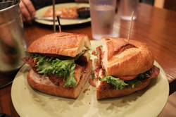Chicken Bacon Ranch Sandwich