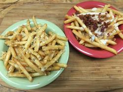 Garlic and Cheesy Fries