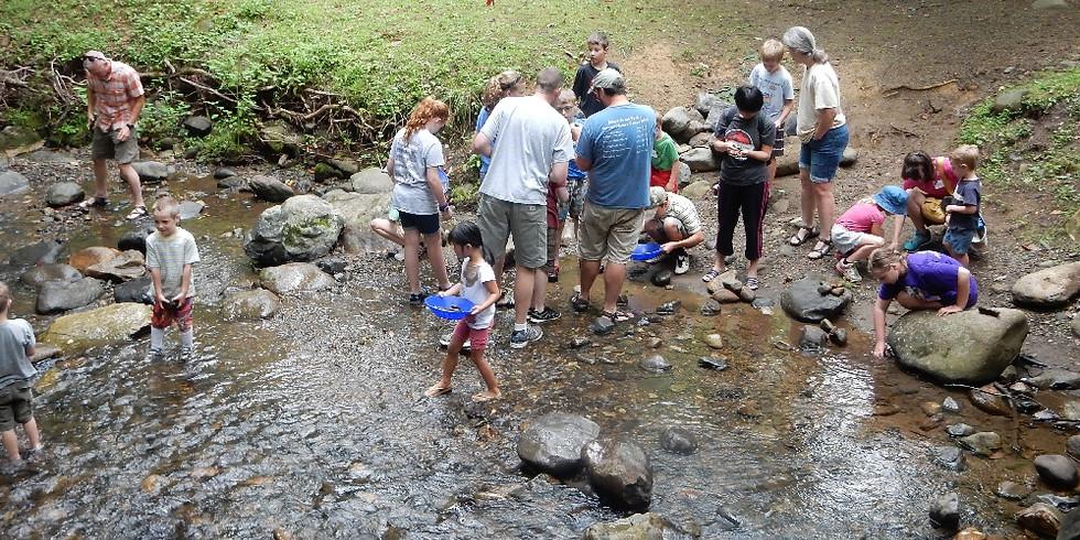 10:30 a.m. Wet Rocks Geology - Jeremy Stout  (9 Adventurers maximum)