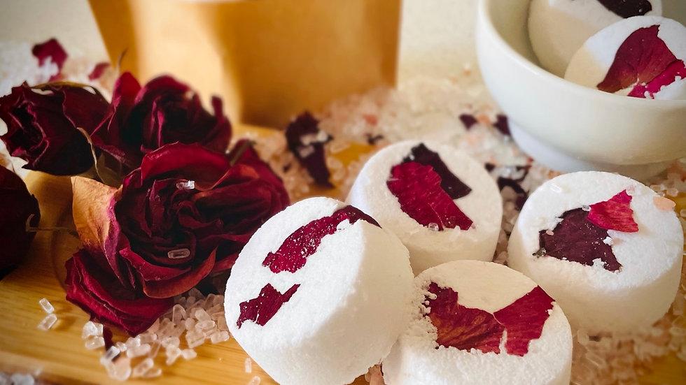 Shower Bombs- Rose & Vanilla
