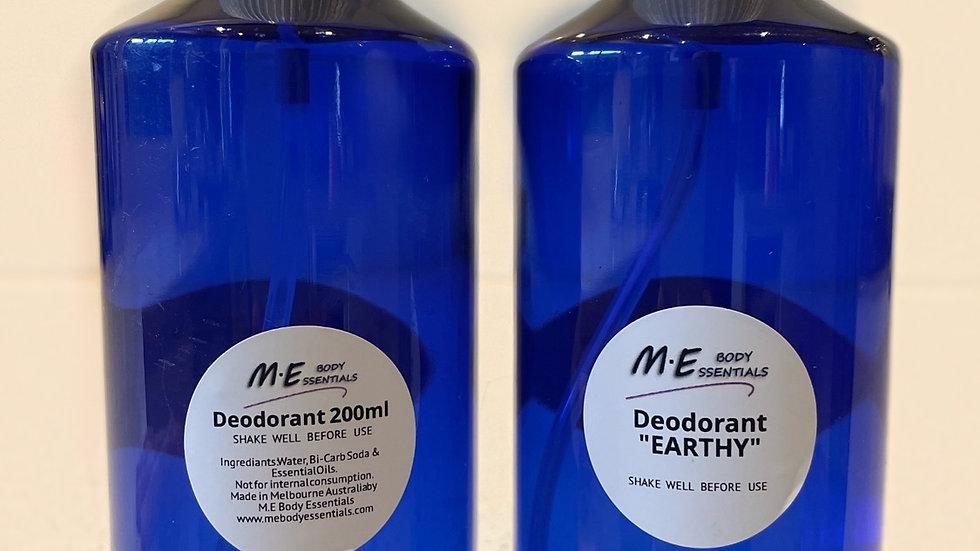 Deodorant- Earthy 200ml