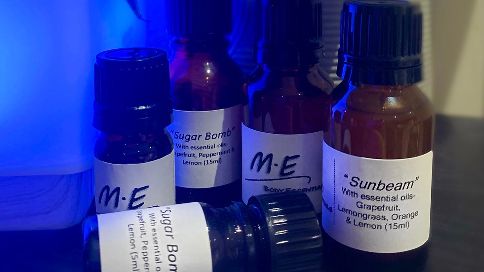 Diffuser Oil Blends- choose from 2 scents (Sunbeam & Sugar Bomb)