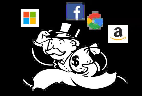 Are the Tech Giants Monopolists?