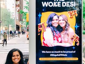 The Woke Desi on Spotify Billboards