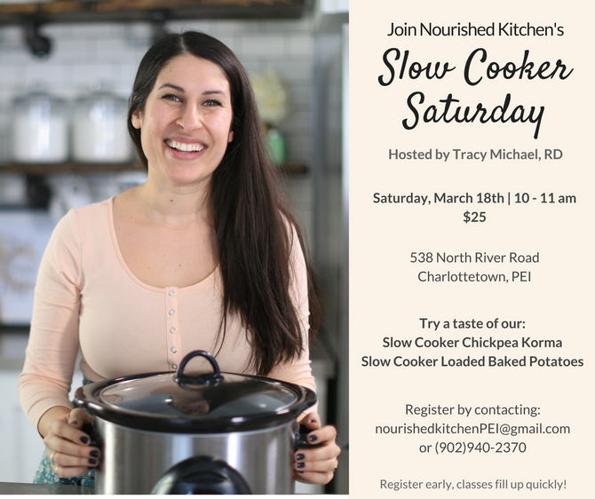 Slow Cooker Saturday with Tracy!