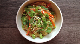 Friday Night Slow Cooker Thai Noodles