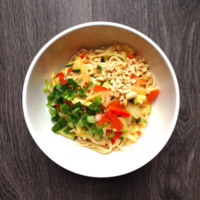 Coconut Curry Ramen Bowls