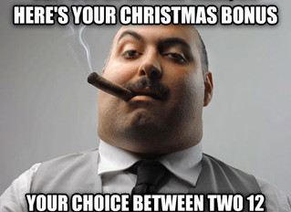 WHAT TO DO ABOUT THE CHRISTMAS BONUS