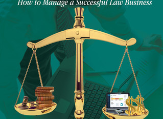 Managing the Business of Practicing Law