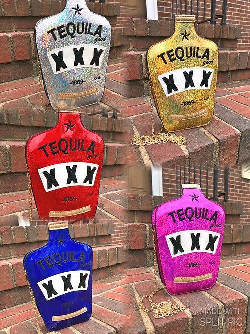 TEQUILA shiny bag