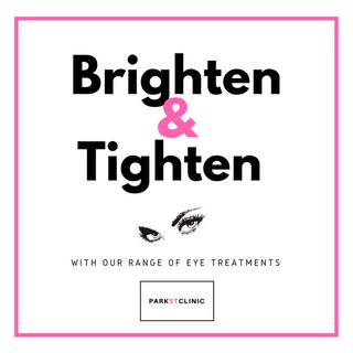 Brighten & Tighten your eyes