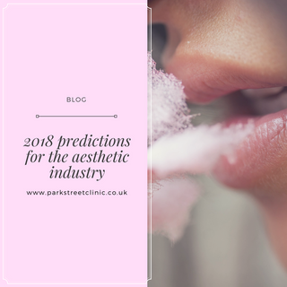 2018 predictions for the aesthetic industry