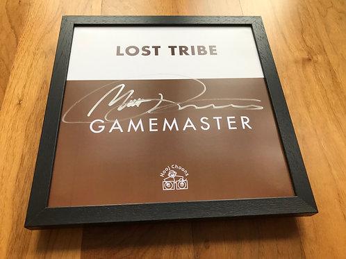 "Lost Tribe Gamemaster 12"" presentation 1997"