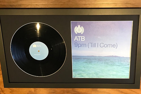 """9pm Till I Come 12"""" Vinyl Presentation"""