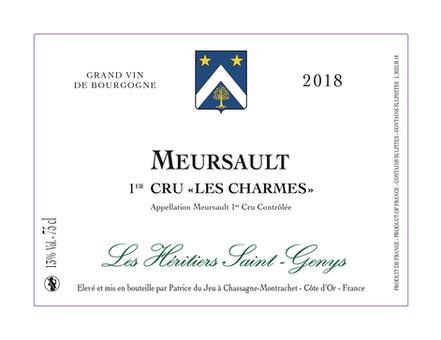 Meursault 1er cru - Les Charmes