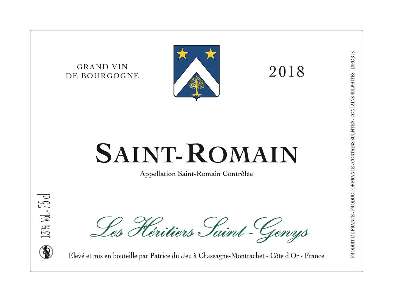 Saint-Romain Blanc