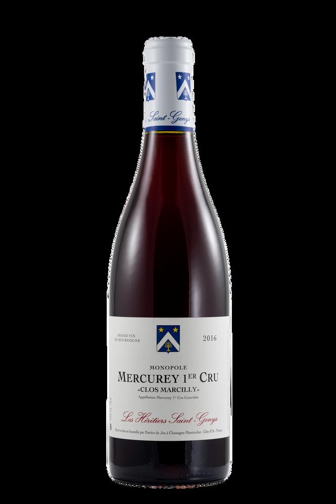 Mercurey 1er Cru - Clos Marcilly Monopole Rouge