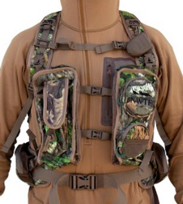 3c9bc3bc268c6 The ALPS Outdoorz NWTF Long Spur Vest does just that with a plastic holster  on the shoulder for mouth calls, ...