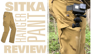 Sitka Hanger Pant Review
