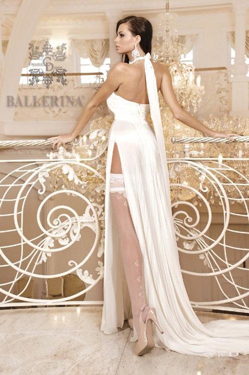 Ballerina 255 White Stockings 20den