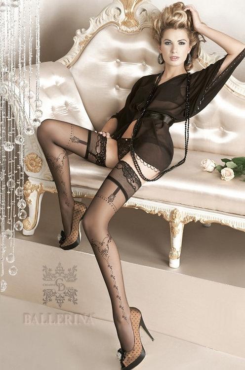 Ballerina 127 Stockings Black 20den