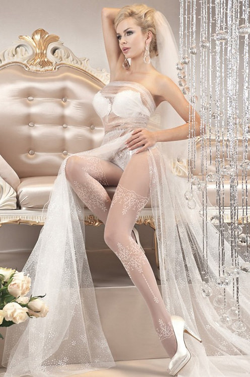 Ballerina 108 Tights White 20den