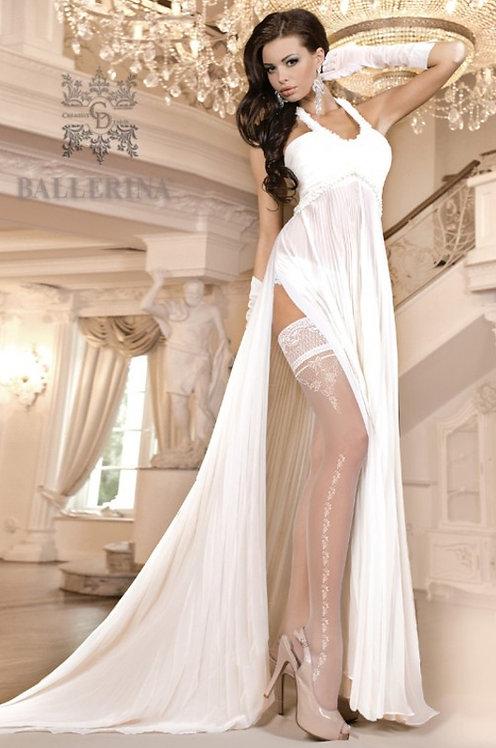Ballerina 253 Stockings White 20den