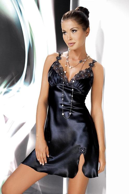 Mirabelle Nightdress Black